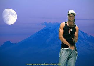 Morangos com Açucar em Wallpapers Homenagem a Angélico Vieira em fundo de tela Montanha e Lua Azul