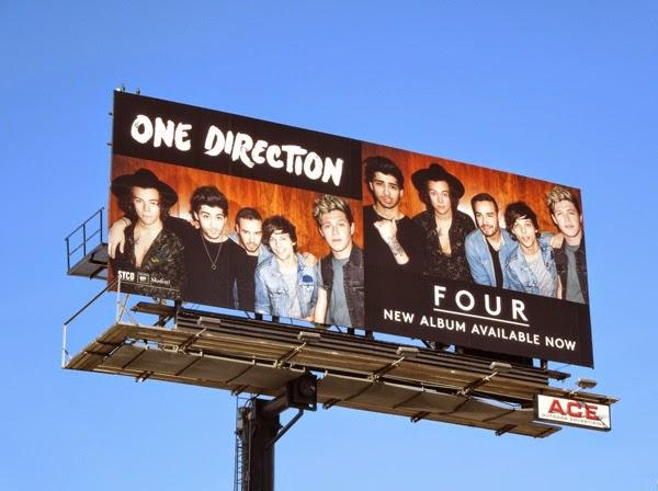One Direction Four album billboard