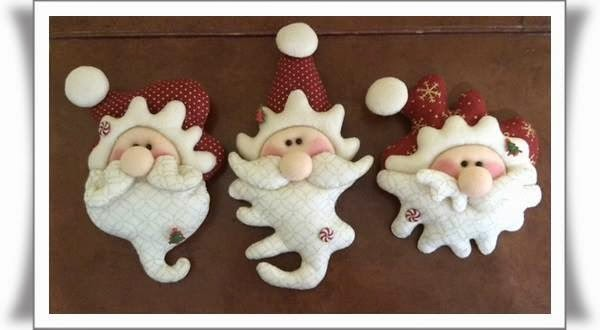 ARTE AMOR: Lindos Muñecos Para Decorar el Árbol De Navidad