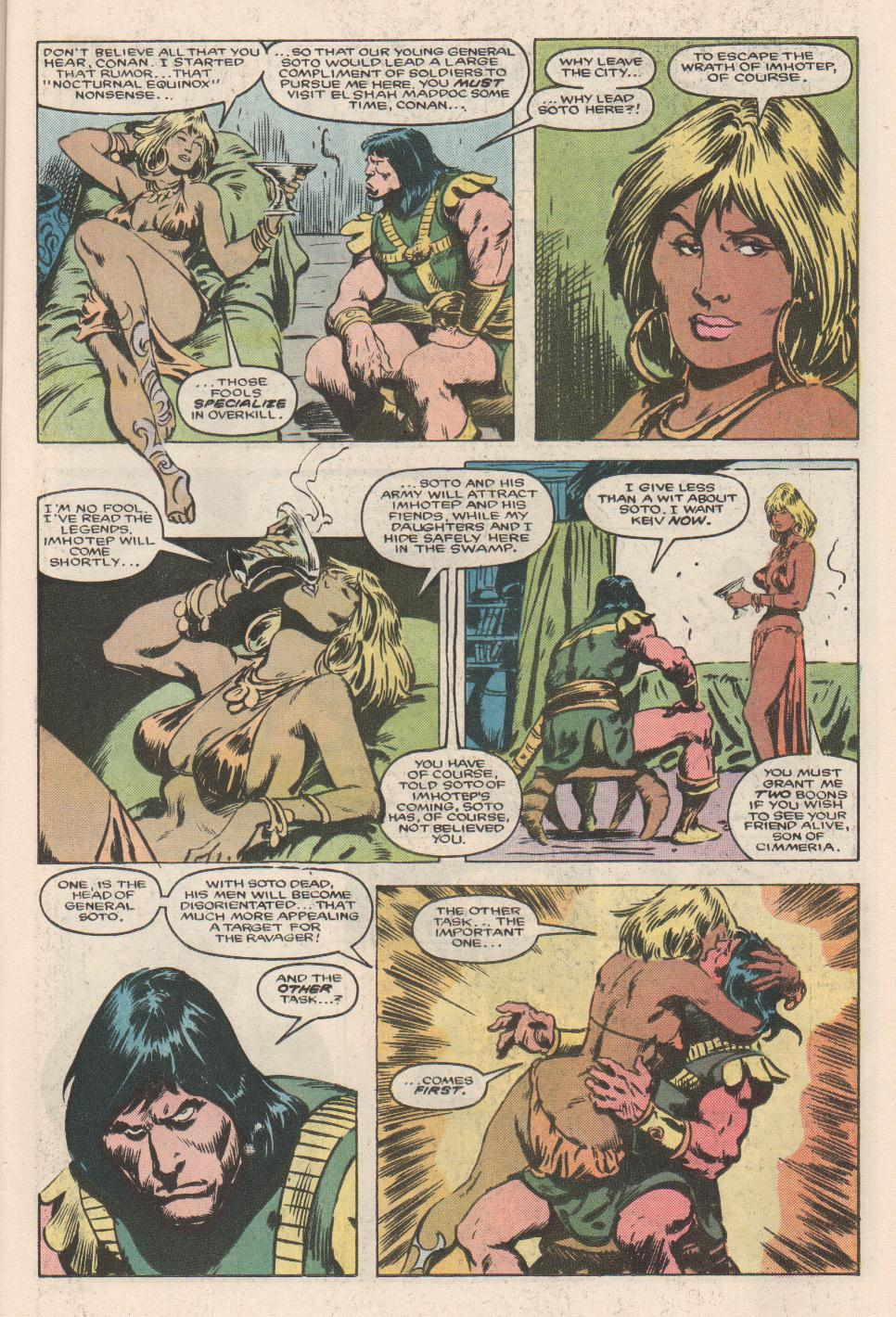 Conan the Barbarian (1970) Issue #180 #192 - English 10