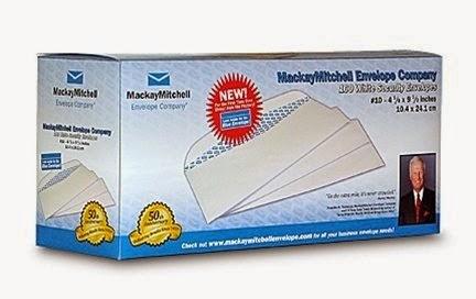 Échantillons gratuits des Enveloppes de Mackay Mitchell Envelope
