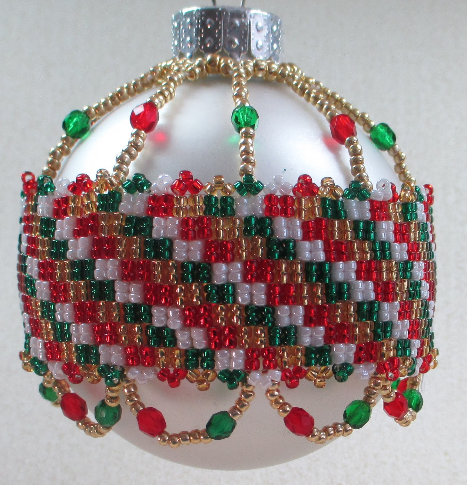 Csd design bead bits september 2013 for How to design a christmas ornament