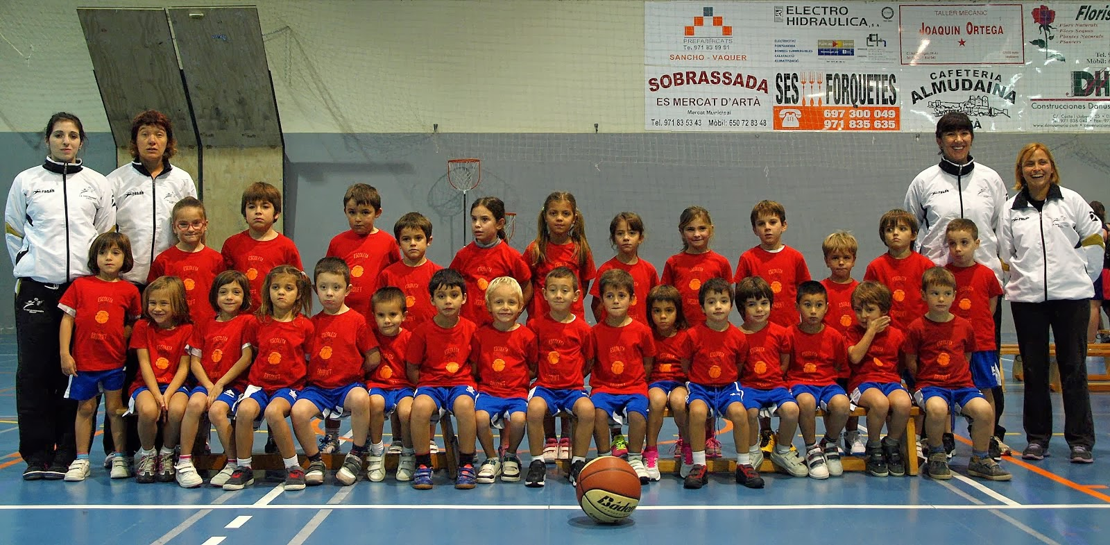 Escola bàsquet