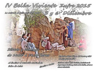 BELÉN VIVIENTE DE ZUFRE 2015 - HUELVA