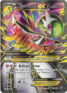 Mega Gardevoir EX Primal Clash Pokemon Card