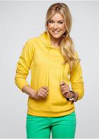 bluză stil hanorac
