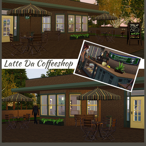 My Sims 3 Blog: Latte Da Coffee Shop *CC Free* by Wibs