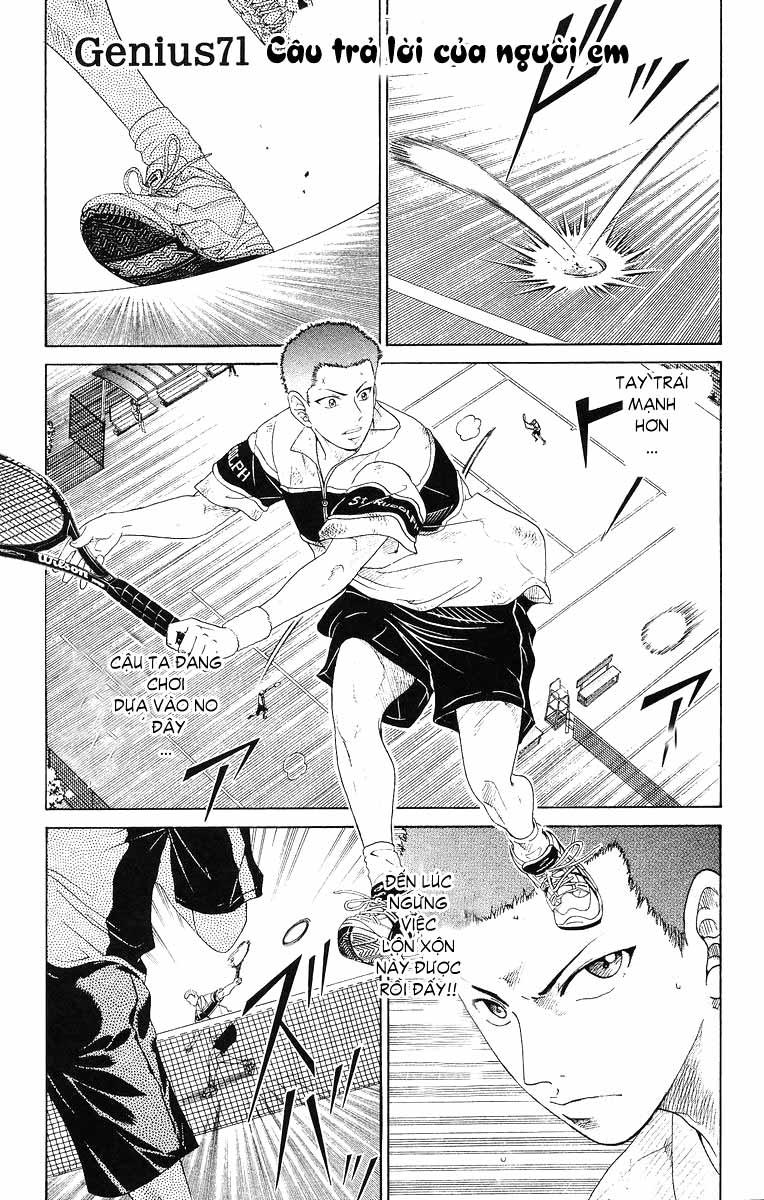 Prince of Tennis chap 71 Trang 1