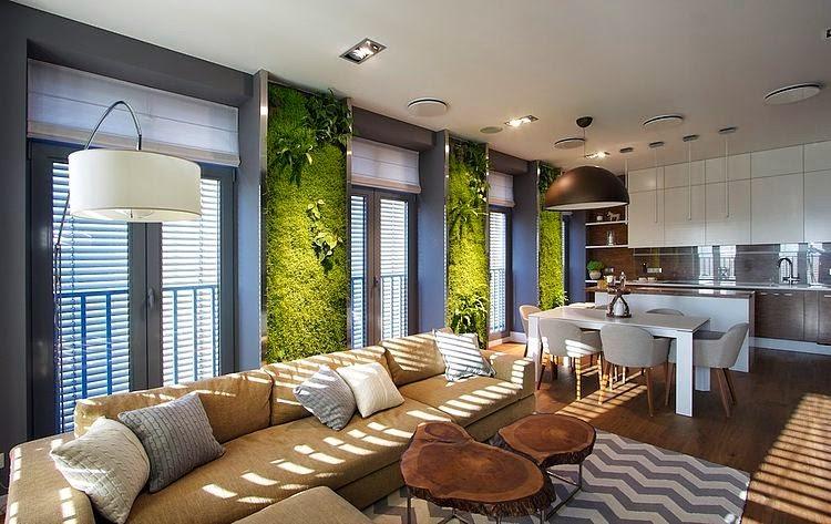 jardim vertical na sala : jardim vertical na sala:As cidades delgadas: APARTAMENTO VERDE – JARDIM VERTICAL