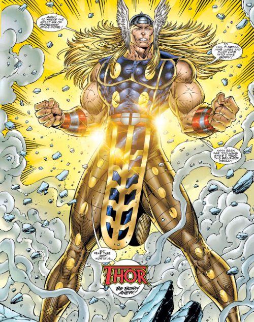 Galería de Portadores del Mjolnir - Thor Heroes Reborn