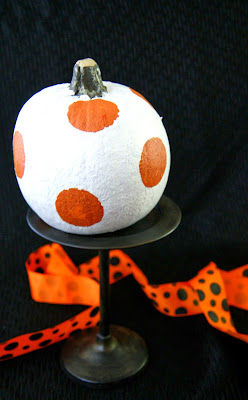 Painted Dot Pumpkins