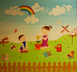 kids art for toyrooms