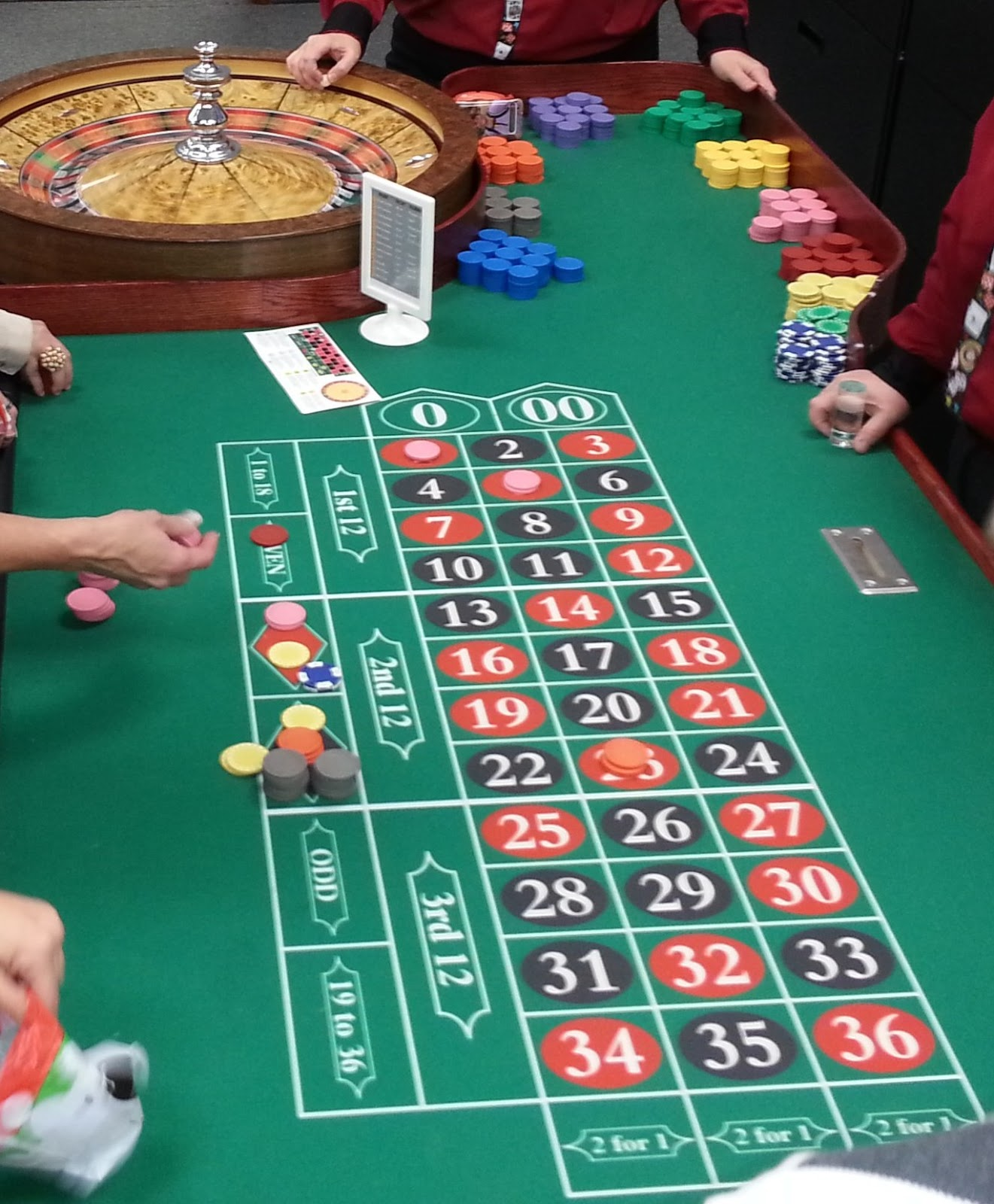 Uptown entertainment how to play roulette at a buffalo - Table a roulette ...