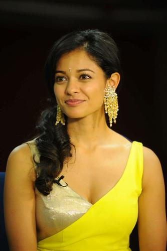 Actress Pooja Kumar Vishwaroopam Press Meet Still