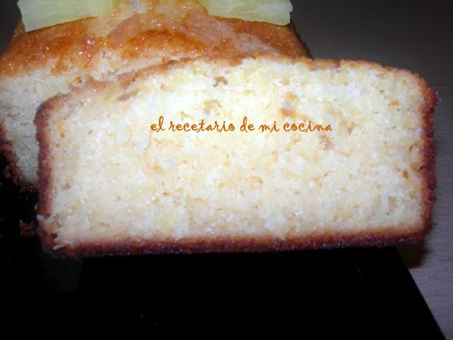 bizcocho griego de piña