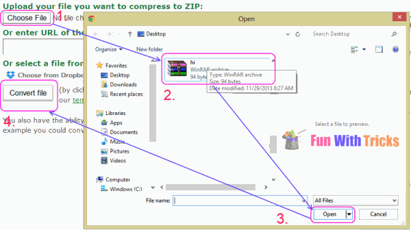 Unlock password protected ZIP files without knowing password
