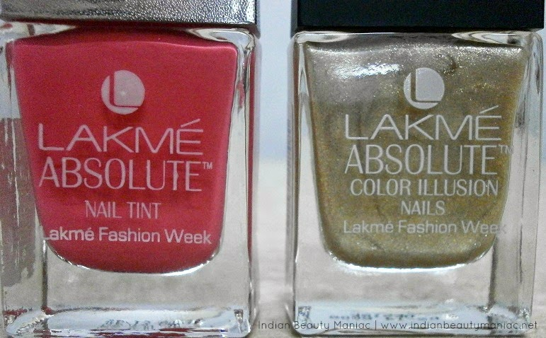 Lakme Absolute Nail Tint and Color Illusion Nails