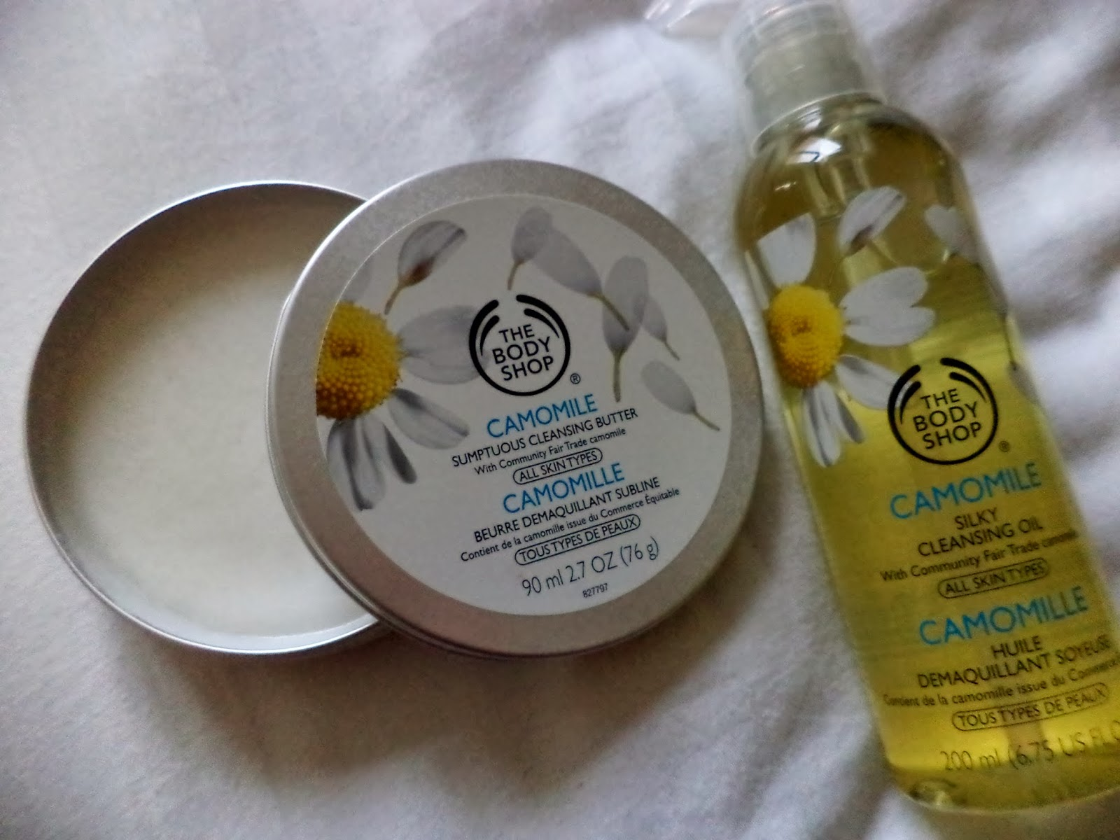 the body shop cleansers
