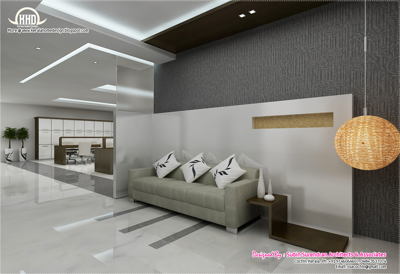 Black And White Themed Interior Designs House Design Plans