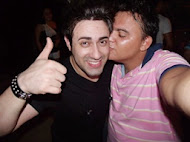 Eu e Diego Rafael Vocalista da Banda Limão com Mel