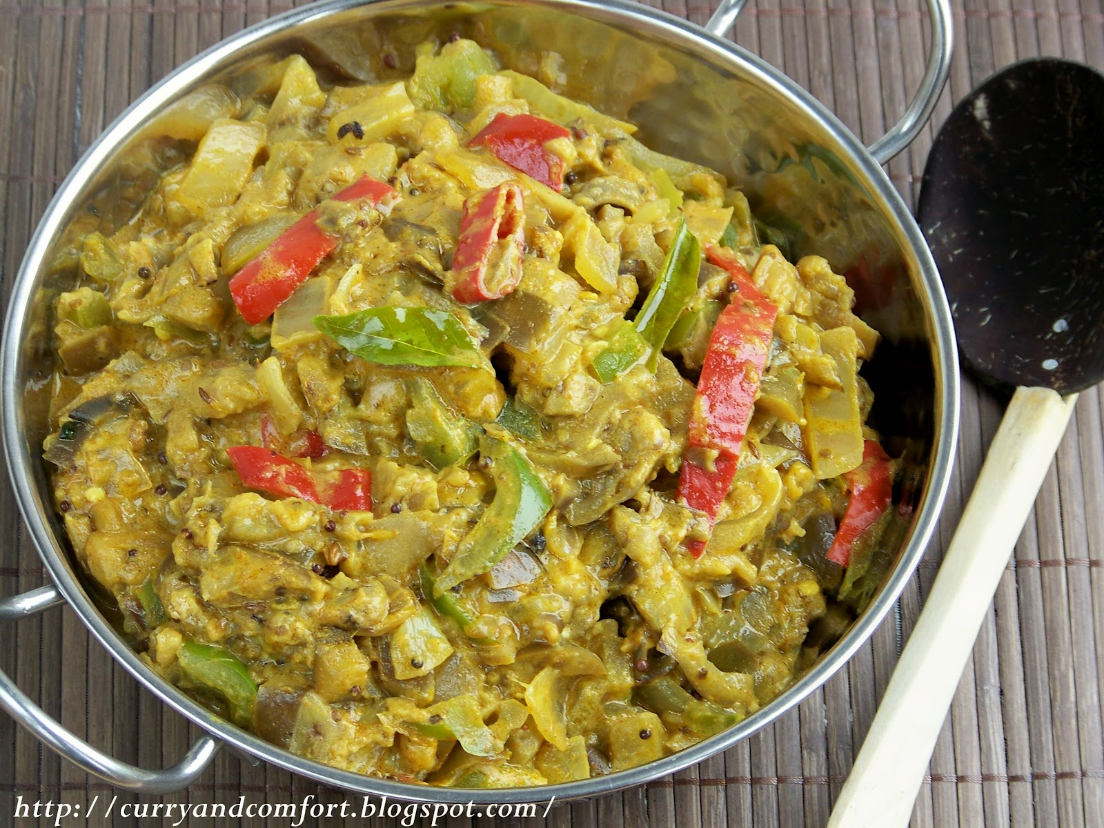 Kitchen simmer eggplant curry vegan this is my 2nd version of this sauteed eggplant curry i made one in the early days of the blog and although they look very similar i did make this with forumfinder Images
