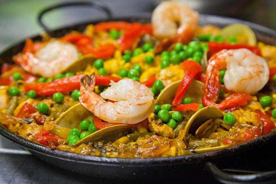Paella ricetta originale spagnola gusto s for Ricette spagnole