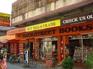 backstreet book store chiang mai thailand