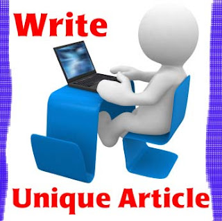 Write Original and unique article for Google Adsense
