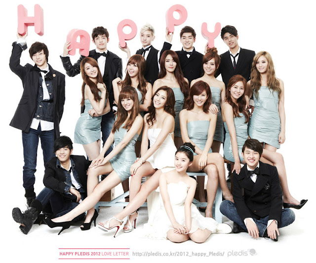 [Pic] 21.18.11 Happy Pledis 2012 Love Letter 1