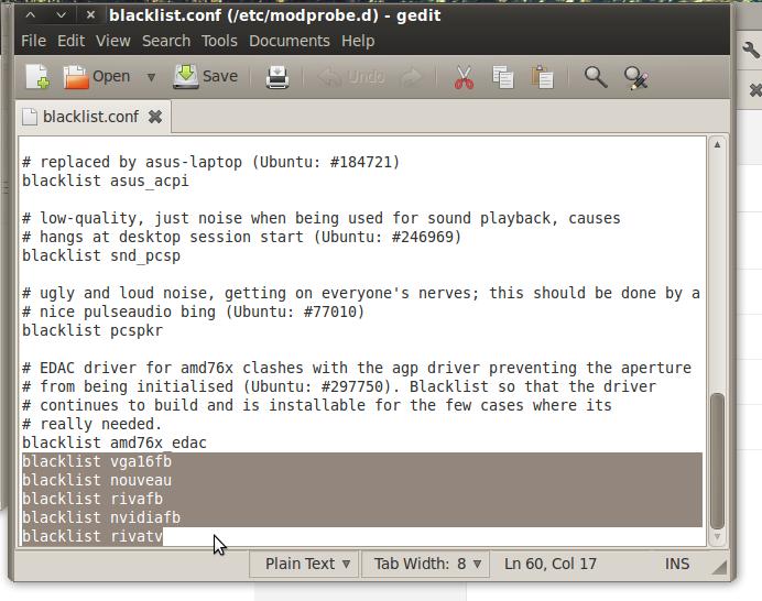 Cara install Driver VGA Nvidia di Ubuntu