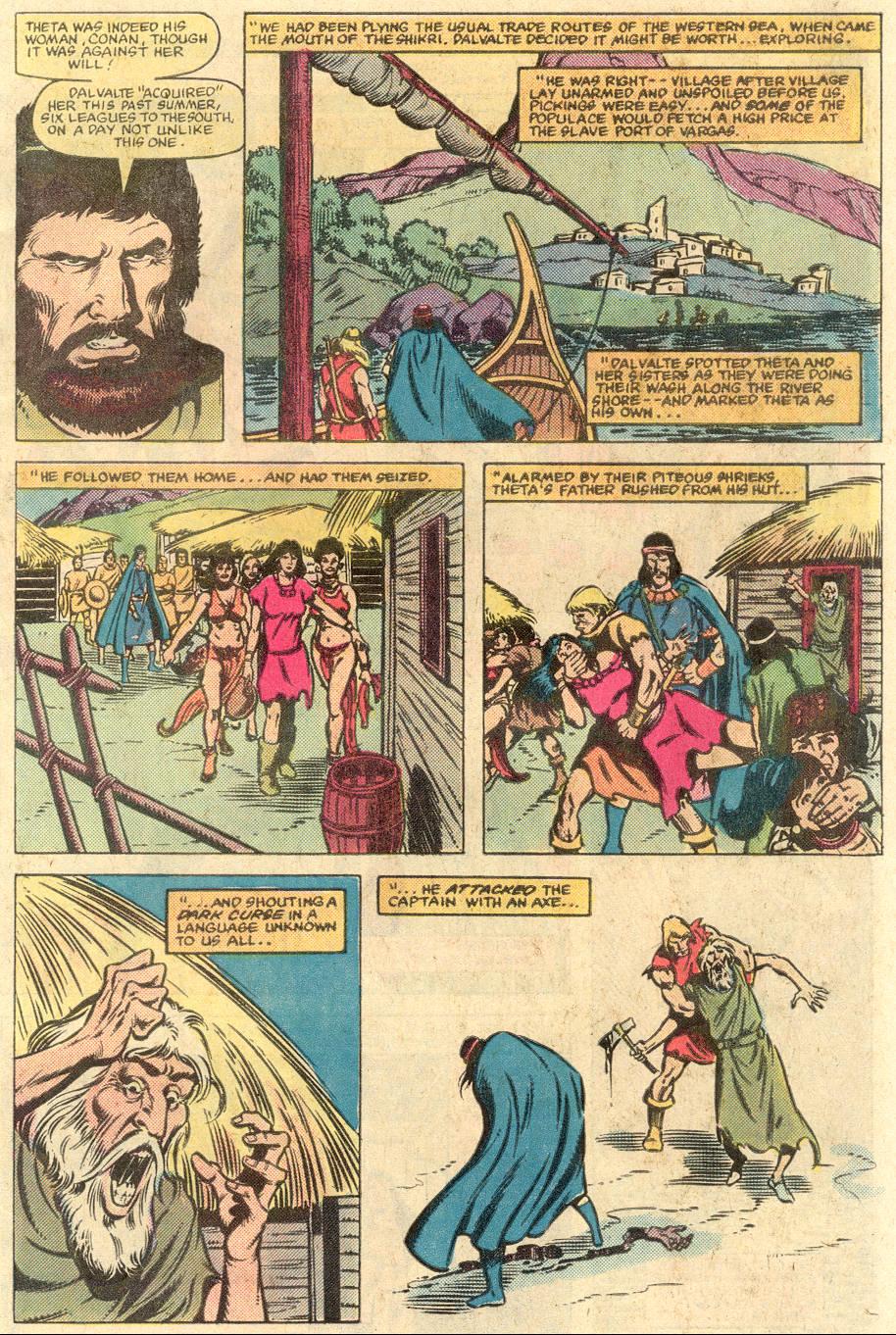 Conan the Barbarian (1970) Issue #141 #153 - English 5