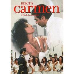 """Cartel de la película """"Ópera Carmen"""""""