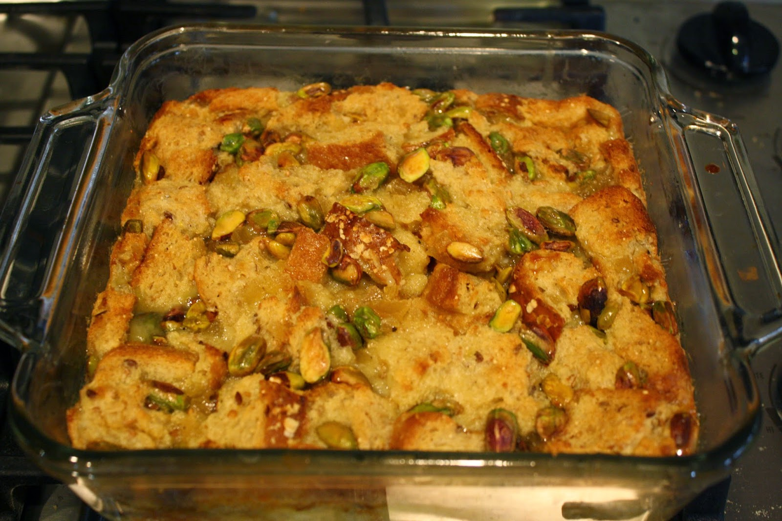 Lactose-Free Girl: Coconut Milk Bread Pudding