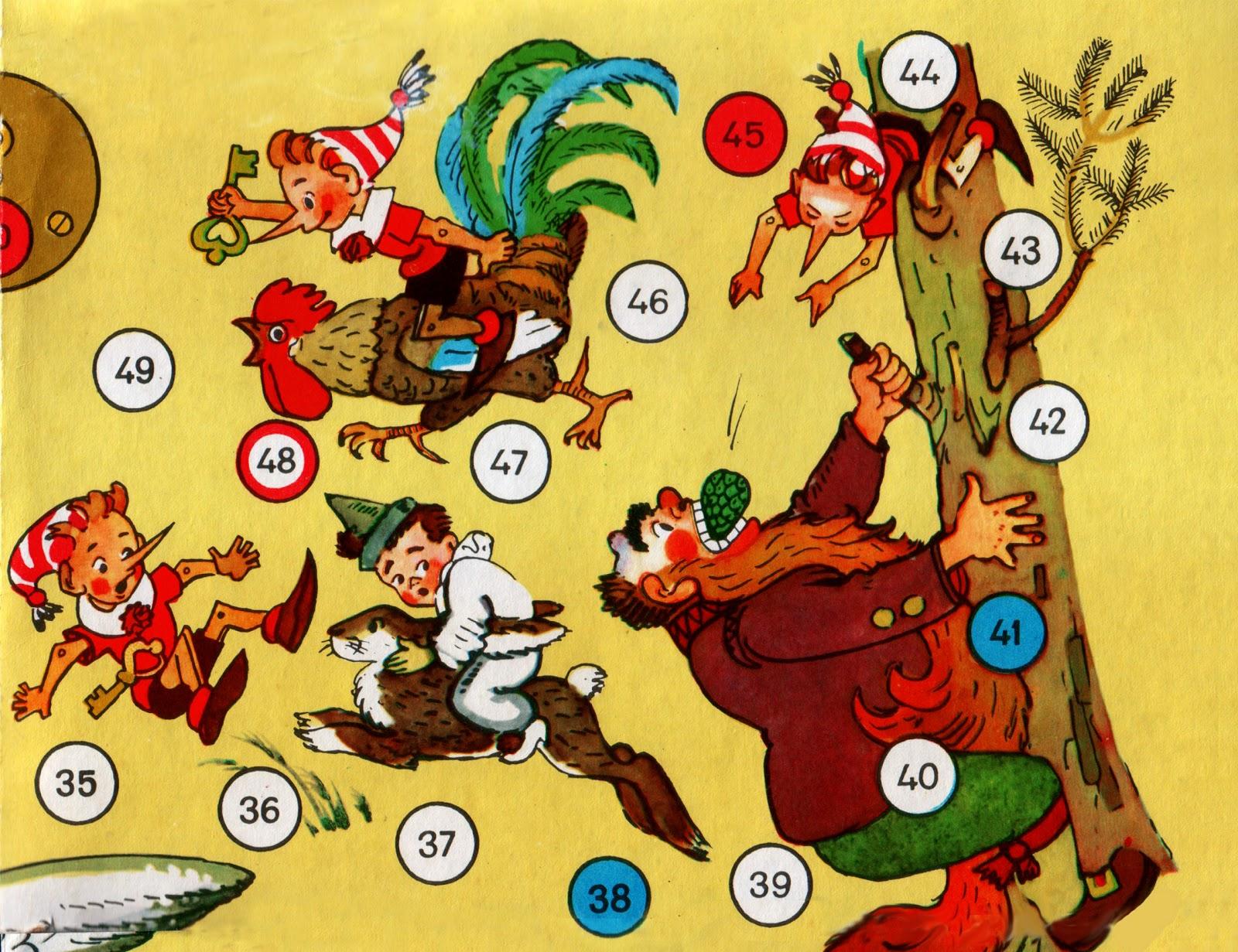Игра Золотой ключик советская версия для печати