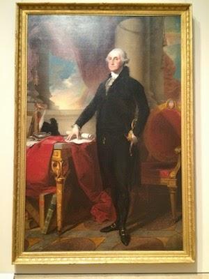 Chuck and Lori's Travel Blog - George Washington by Gilbert Stuart