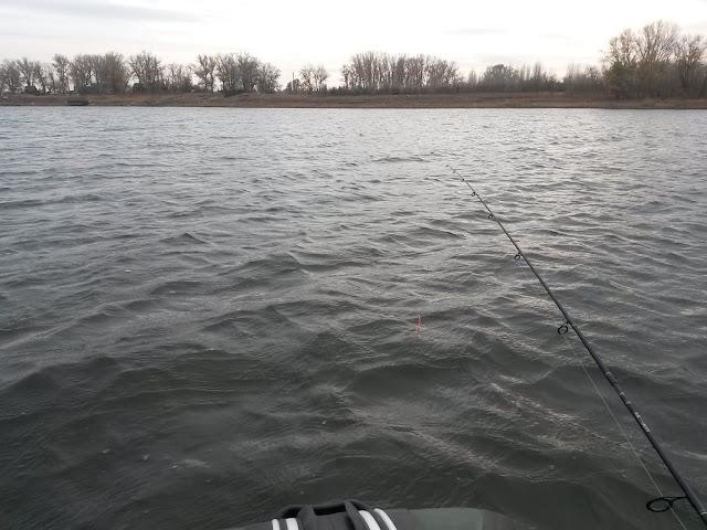 Рыбалка в начале зимы