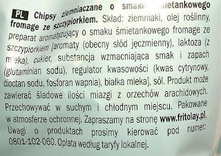 chipsy skład