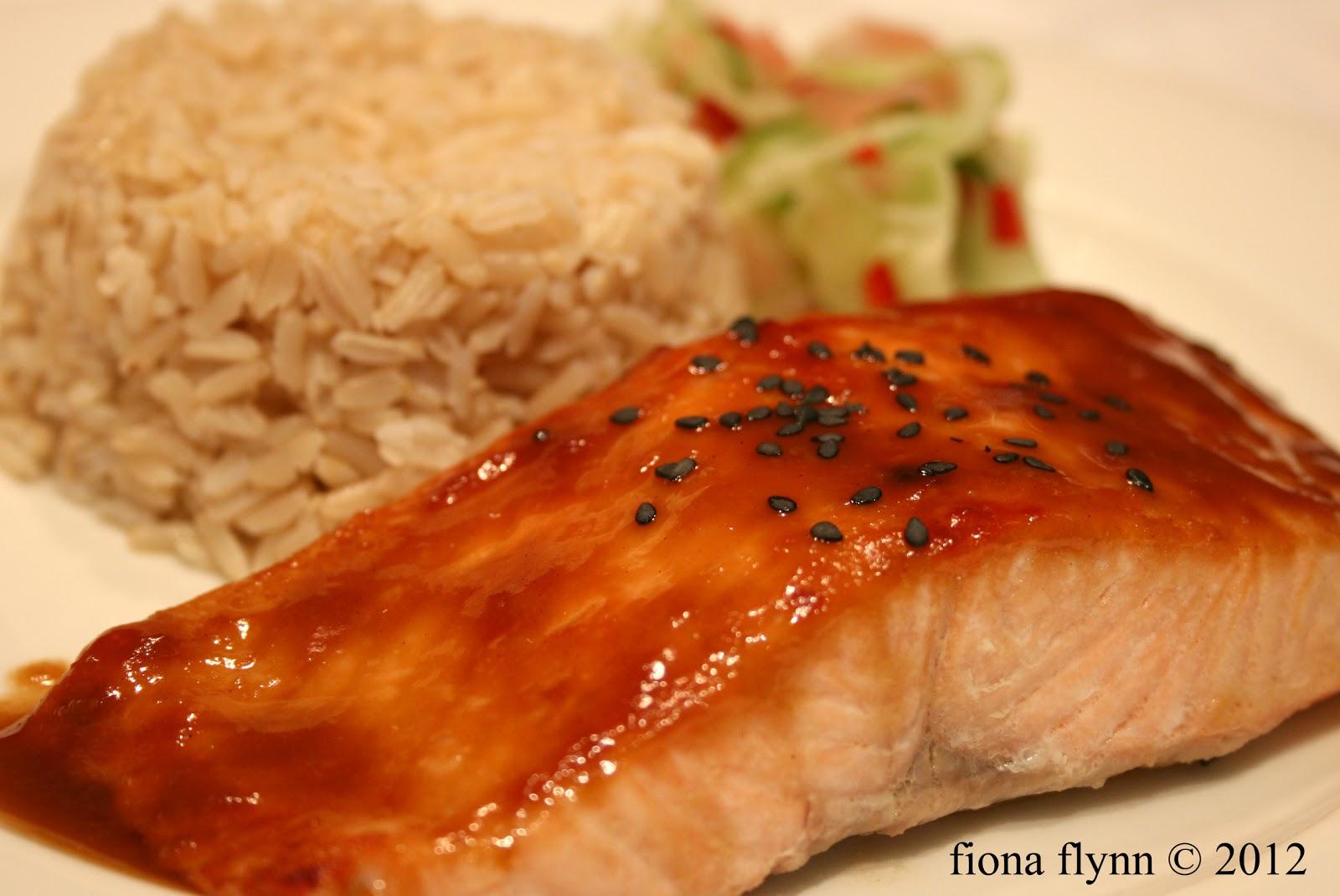 Lou's Kitchen Table: Miso Glazed Salmon