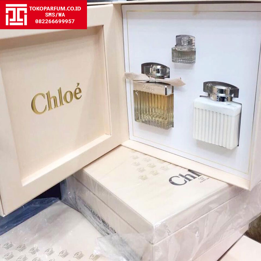 Diskon Parfum Chloe Gift Set 75ml Edp 100ml Lotion 75ml Edp