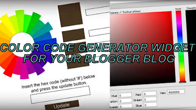 Fig. Color Code Generator For Blogger