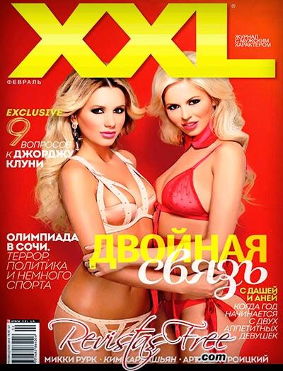 XXL Ukraine - Daria Vinogradova e Anna Kusikovskaya - Fevereiro 2014