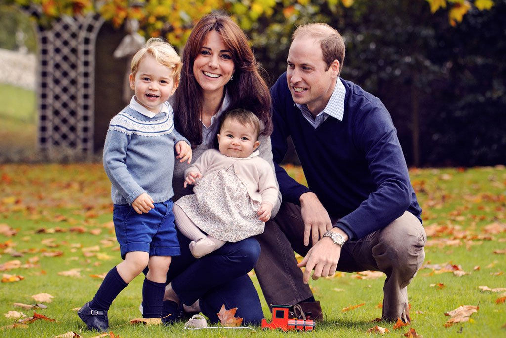Prince george wearing a startrite jo navy blue leather boys buckle first walking shoes for christmas photo