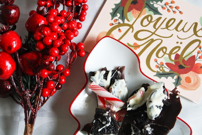 Peppermint Chocolate Bark