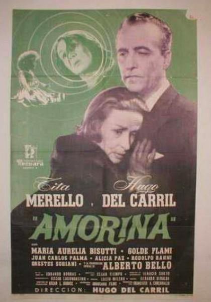afiche de la pelicula Amorina