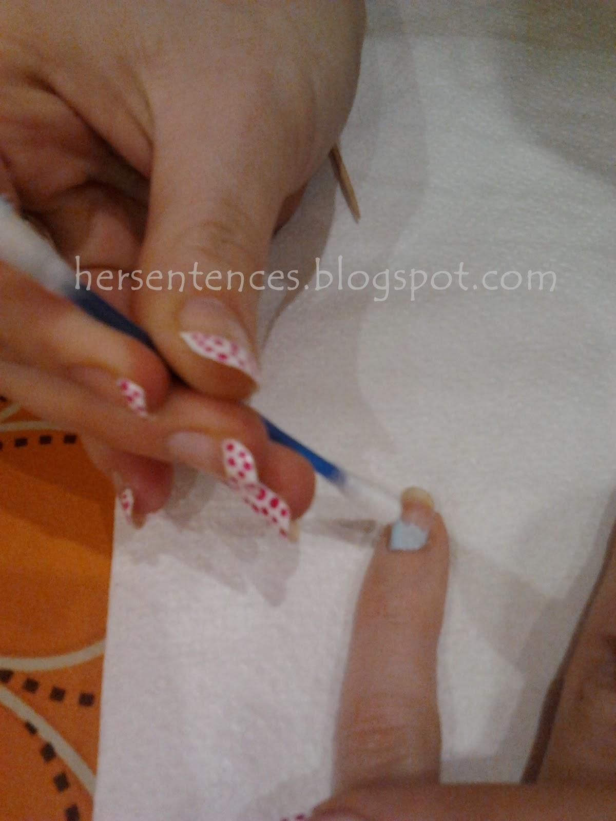 jak zrobić ombre na paznokciach