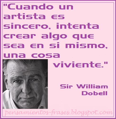 frases de Sir William Dobell