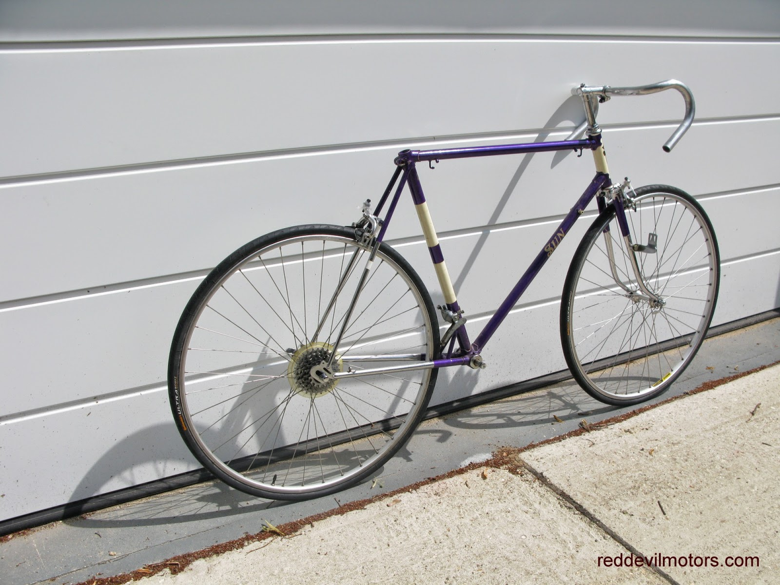 sun manxman vintage racing bicycle