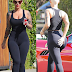 Amber Rose displays dangerous curves as she goes house hunting in LA (Photos)