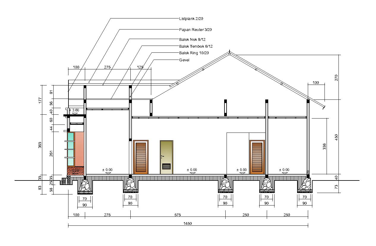 rumah tinggal type 110 lombok arch studio