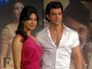 Hrithik Roshan appearance with Priyanka Chopra for Krrish 3